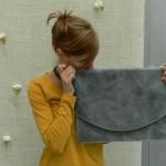 borsa pochette pelle